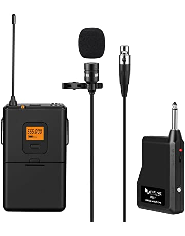 Wireless Microphones and Receiver: Amazon co uk