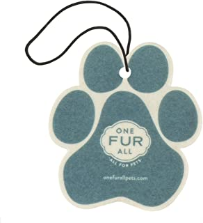 product image for One Fur All Pet House Car Air Freshener, Pack of 4 – Mediterranean Sea - Non-Toxic Auto Air Freshener, Pet Odor Eliminating Air Freshener for Car, for Small Spaces, Dye Free Dog Car Air Freshener