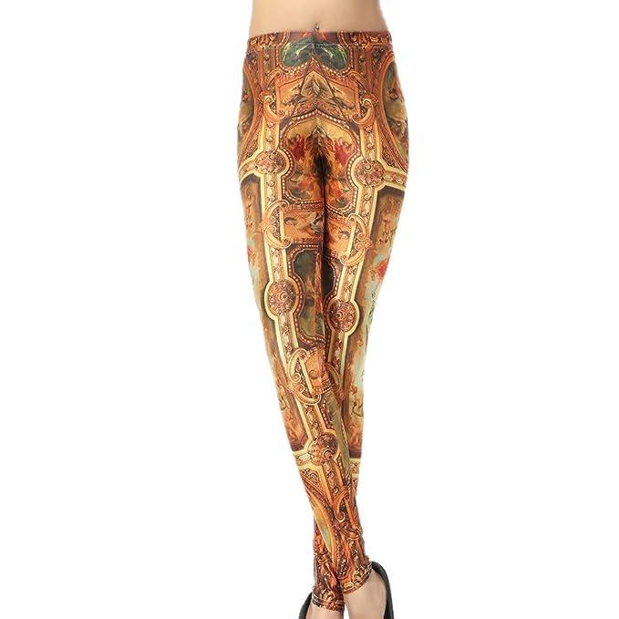 SXZG Nuevos Pantalones De Yoga para Mujer con Estampado De ...