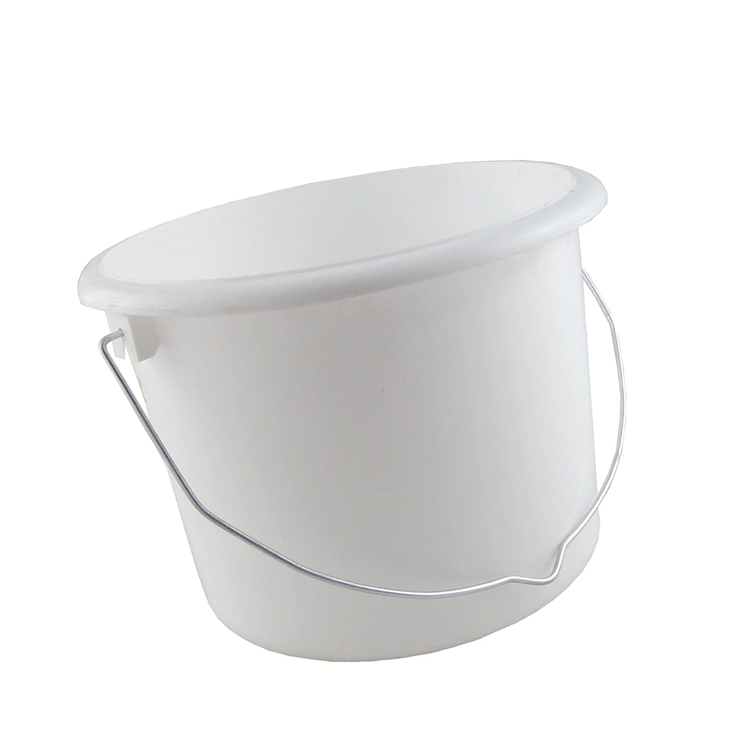 White Paint Kettle In 3 Assorted Sizes - 1L / 2L / 5L (2 Litres)