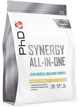 PhD Nutrition Synergy ISO-7, Proteína de suero, Complejo Alto ...