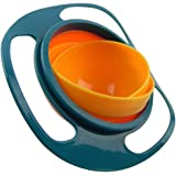 Pro Universal Gyro Bowl | Revolutionary Anti Spill Bowl For Kids | Smooth 360 Degrees Rotation With Highly Durable Material  | For Children Of All Ages | 1097
