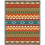 Southwest Stripe Blanket - OVERSTOCK