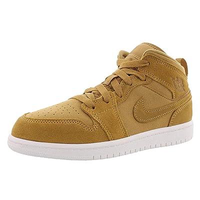 Jordan Retro 1 Mid Basketball Boy's Shoes Size 11 | Fashion Sneakers