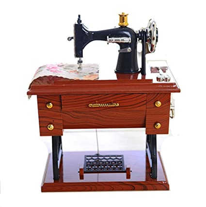 Amazon Longlove Music Box Sewing Machine Music Box Mom Gift Classy Sewing Machine Music Box