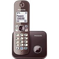 Panasonic KX-TG6811GA DECT draadloze telefoon (stralingsarm, eco-modus GAP-telefoon, zonder antwoordapparaat, vast net…