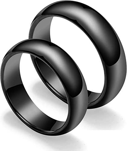 Tungsten Carbide Ring Mens Wedding Band Size 10