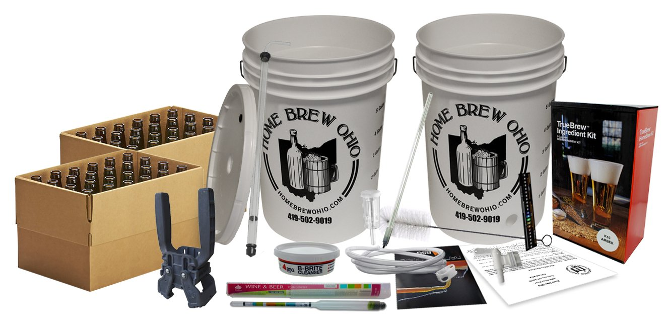 Amazon New Brewers Complete Homebrew Beer Making Kit By