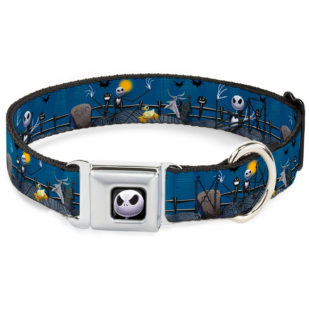 Buckle-Down DC-WDY037-L DYAI Jack Expression6 Full color Dog Collar, Large 15-26