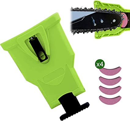 5,5 mm Fdit Motosega Sega per Catena e limatura per affilatura Kit con Supporto in Legno per Utensili 4,0 mm 4,8 mm 4 mm