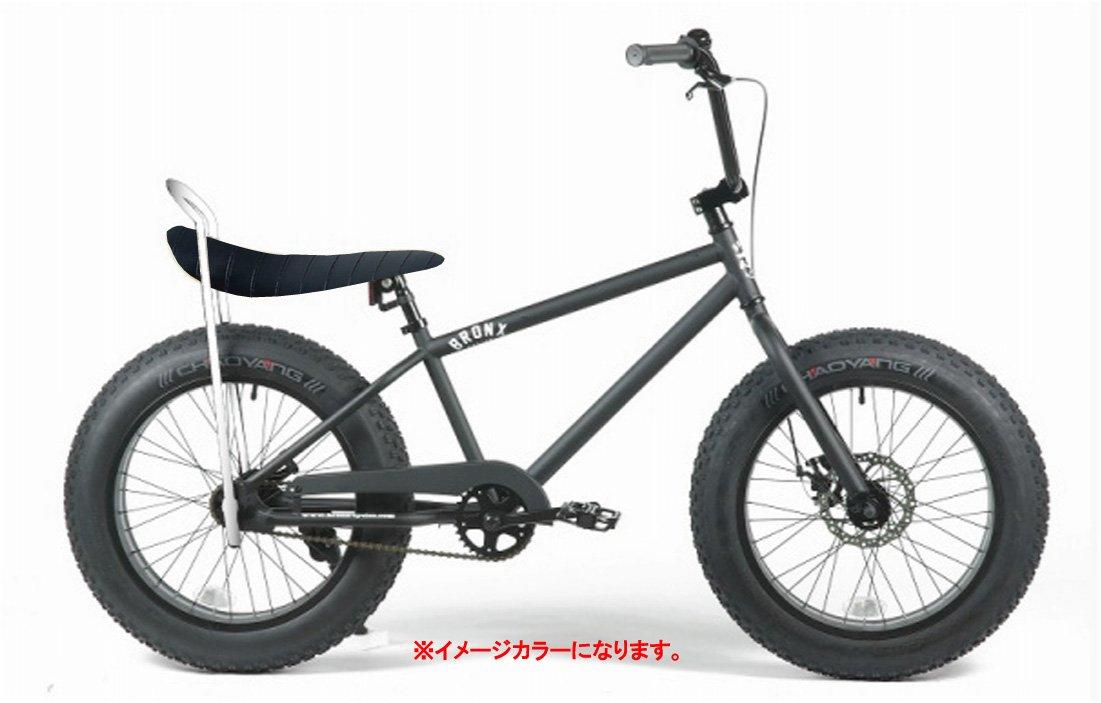 BRONX 20nch FAT-BIKES 【ブロンクス 20inchファットバイク】 COLOR:マットブラック×ブラックラメサドル B00VCNMFDE
