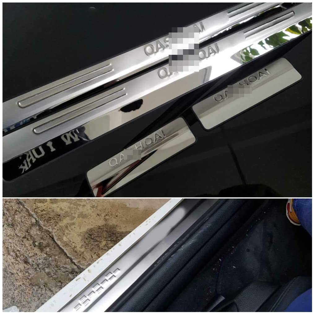 4pcs Stainless Steel Scuff Plate Door Sill for Nissan Qashqai 2009-2015