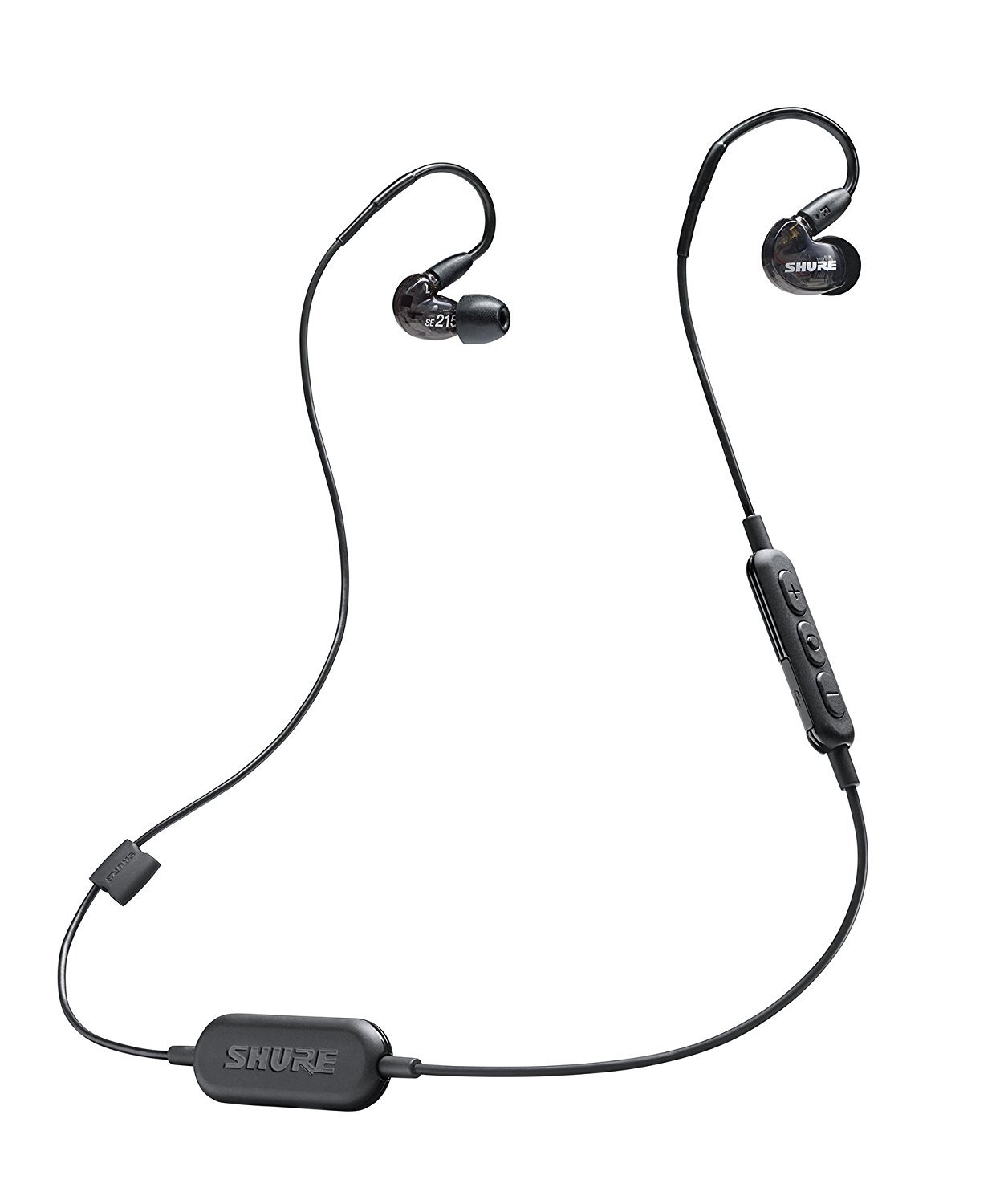 b25bd8a3c6b Amazon.com: Shure SE215-K-BT1 Wireless Sound Isolating Earphones with  Bluetooth Enabled Communication Cable: Musical Instruments
