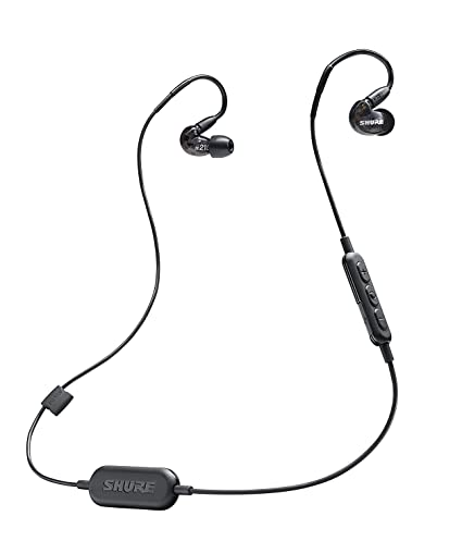 ad42c40cb7f Shure SE215-K-BT1 Wireless Sound Isolating Earphones: Amazon.ca: Musical  Instruments, Stage & Studio