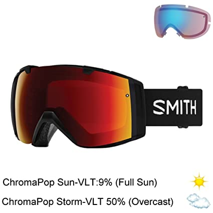 3700febbd3 Amazon.com   Smith Optics I O Adult Snow Goggles - Black Chromapop ...