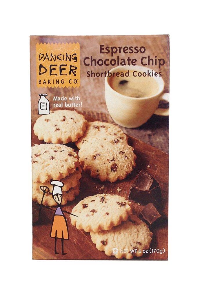 Espresso Chocolate Chip Sweet Shortbreads
