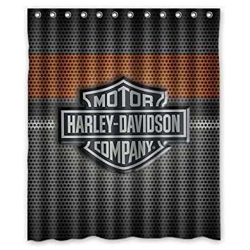Fashionable Bathroom Collection Custom Harley Davidson Shower Curtain Bath Decor Curtain 60 Quot