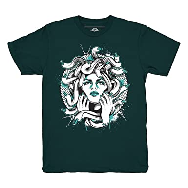 a61abd6b33853d Image Unavailable. Image not available for. Color  Kickset Easter 11 Low  Medusa Emerald T-Shirt To Match Jordan ...
