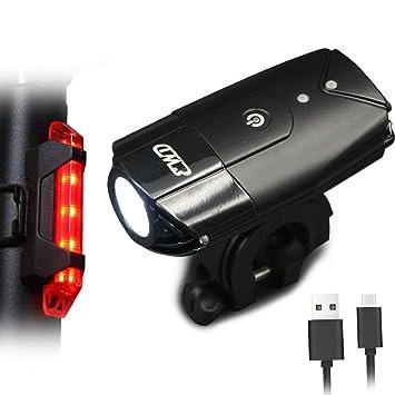 Bigo Led Bike Lights Usb Rechargeable Bike Front Light 900 Lumens Super Brigh...