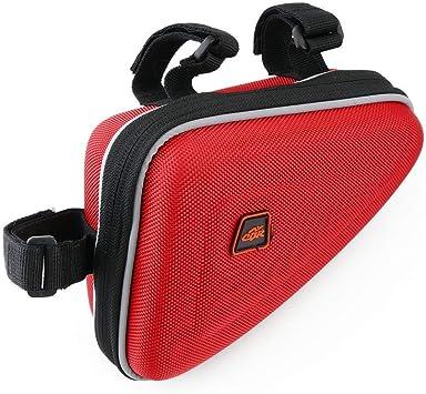 Cablematic - Bolsa maletín para cuadro de bicicleta de color rojo ...
