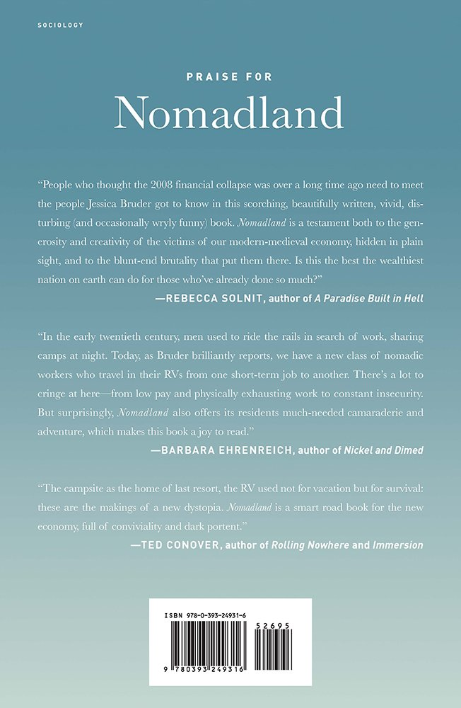 Buy Nomadland Surviving America In The Twenty First Century Book Online At Low Prices In India Nomadland Surviving America In The Twenty First Century Reviews Ratings Amazon In