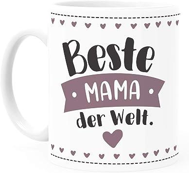 Kaffeebecher Beste MAMA personalisiert Geschenk NEU