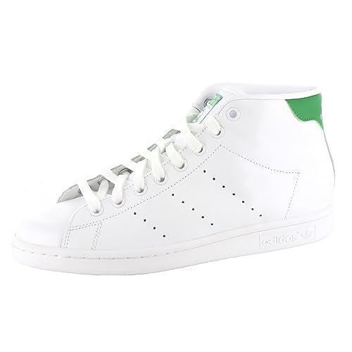 157548d2 adidas - Zapatillas de Piel para Mujer Blanco Bianco: Amazon.es: Zapatos y  complementos