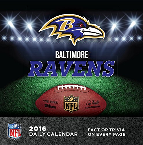 Turner Baltimore Ravens 2016 Box Calendar, January-December (8051430)