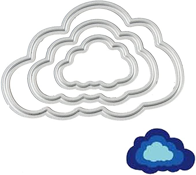 Cloud Cutting Dies Stencil For DIY Scrapbooking Embossing Album Paper Card Craft