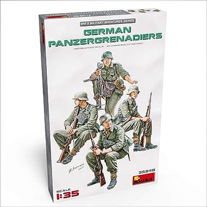 MINIART 35248 WWII German Panzergrenadiers Figuren in 1:35