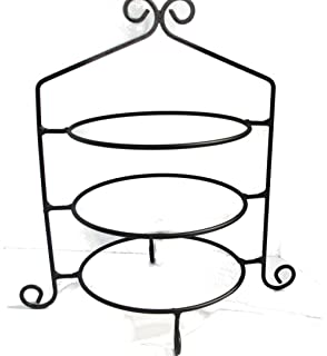 Wrought Iron Pie Stand Rack Triple Tier Hand Made