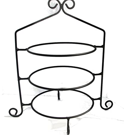 Wrought Iron Pie Stand/Rack Triple Tier Hand Made  sc 1 st  Amazon.com & Amazon.com | Wrought Iron Pie Stand/Rack Triple Tier Hand Made ...