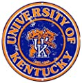 "University of Kentucky 12"" Metal Tin Sign from Redeye Laserworks"