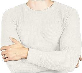 Joe Boxer Thermal Crew Tops - Base Layer Shirt - Long Sleeve Undershirt