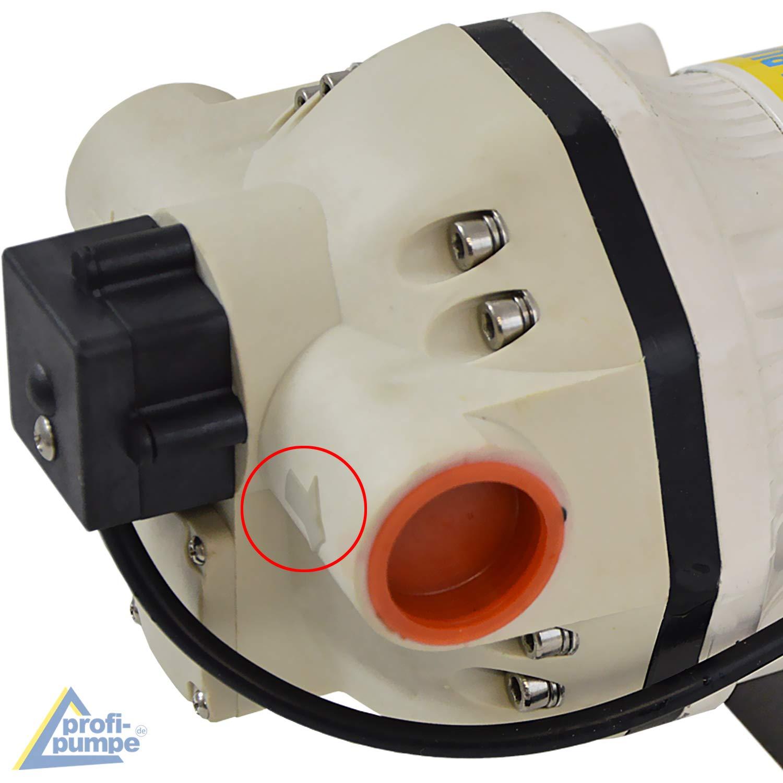 JETZT MIT EXTRA-Ersparnis mit Saug- und Druckschlauch Chemikalien-Pumpe mit KUPFERWICKLUNG AdBlue/®-PUMPEN SET HARNSTOFF-PUMPE Elektrische pumpe f/ür DIESEL Fasspumpe Zapf-Pistole und Zubeh/ör
