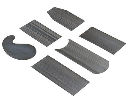 Crown Tools UK Woodworking Scraper Burnisher /& 2 Piece Cabinet Scraper Set