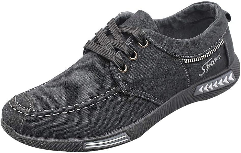 Zapatillas Hombre Deportivas Hombre Ofertas Zapatos De Lona De Mezclilla De Moda Calzado Deportivo Casual De