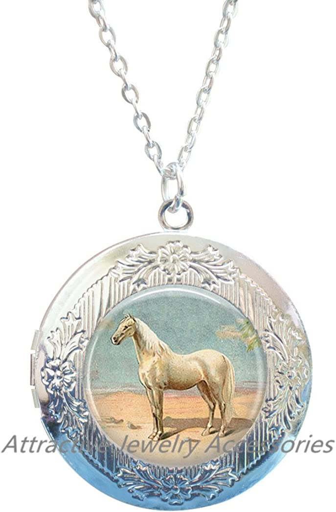 Horse rider jewelry,Horse gift for him Horse lover necklace Horse Necklace Horse gift for her Horse birthday gift Personalized Horse