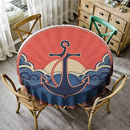 Rank-T Outdoor Round Tablecloth 70