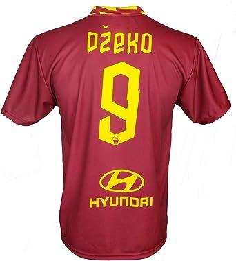Camiseta Dzeko Roma 2020 oficial 2019 AS Roma Adulto niño Edin 9: Amazon.es: Ropa y accesorios