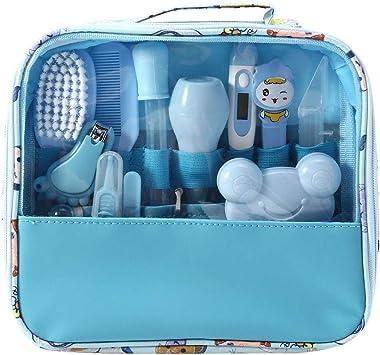 MIsha Neceser de Aseo de Bebé, 13 Unids/Set Kit higiene bebe Neceser aseo para tu bebé, Kit de cuidado de bebé portátil bebes regalos originales (Azul): Amazon.es: Electrónica