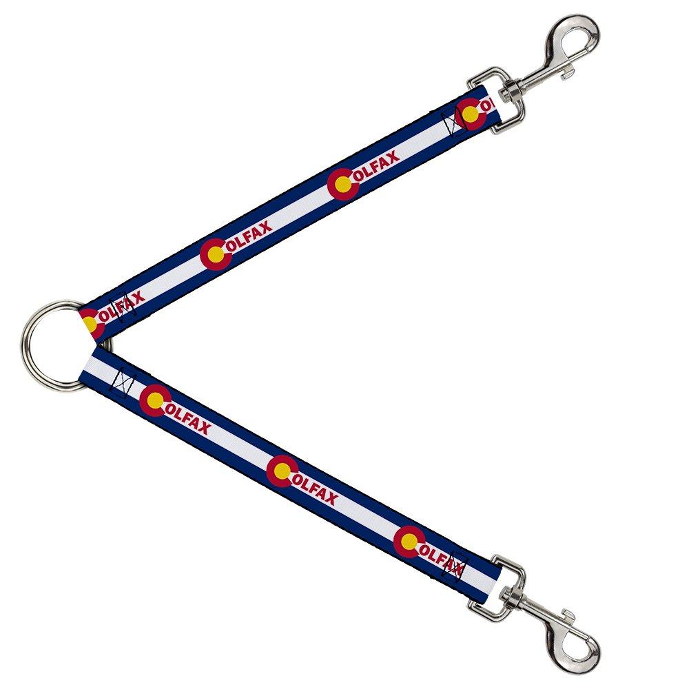 Buckle-Down DLS-W32973 Leash Splitter-Colfax colorado Flag, 1  W-30  L