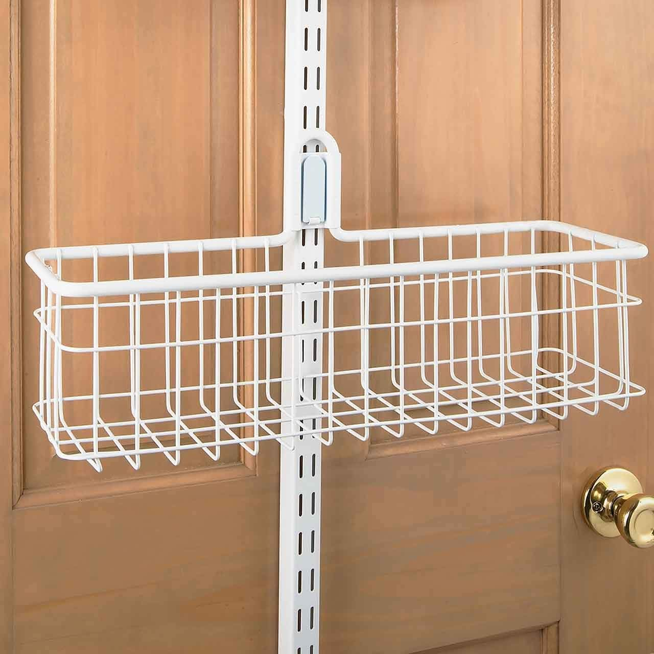 MD Group freedomRail Large Over Door Basket, 8.25'' x 7'' x 6.5 lbs by MD Group (Image #2)