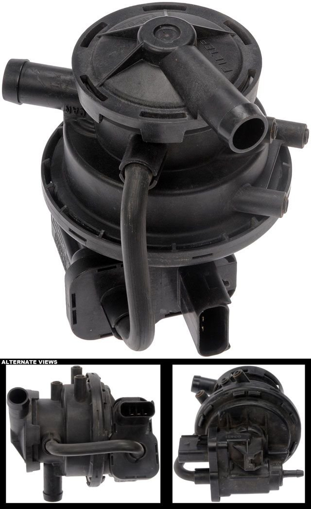 APDTY 113759 Fuel Vapor Leak Detection Pump Fits 1998-2001 Jeep Cherokee (Replaces 4891412AC)