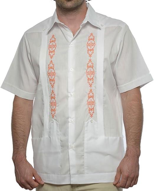 DAccord Camisa de Boda Mexicana de Manga Corta para Hombre, Guayabera - Multi - XX: Amazon.es: Ropa y accesorios