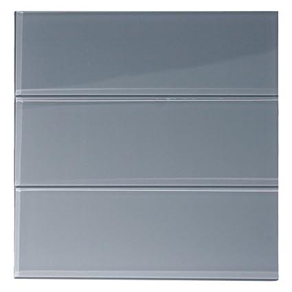 Ocean Glass 4 X 12 Subway Tile 4 X 12 Sample Amazoncom
