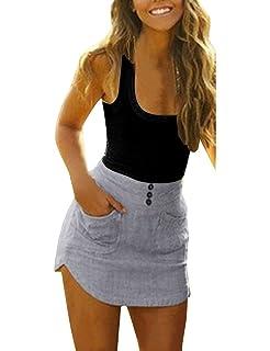 ZEARO Mujeres Vestido de Tirantes Slim Bodycon Falda de Playa Mini Patchwork Dress Verano Vestir