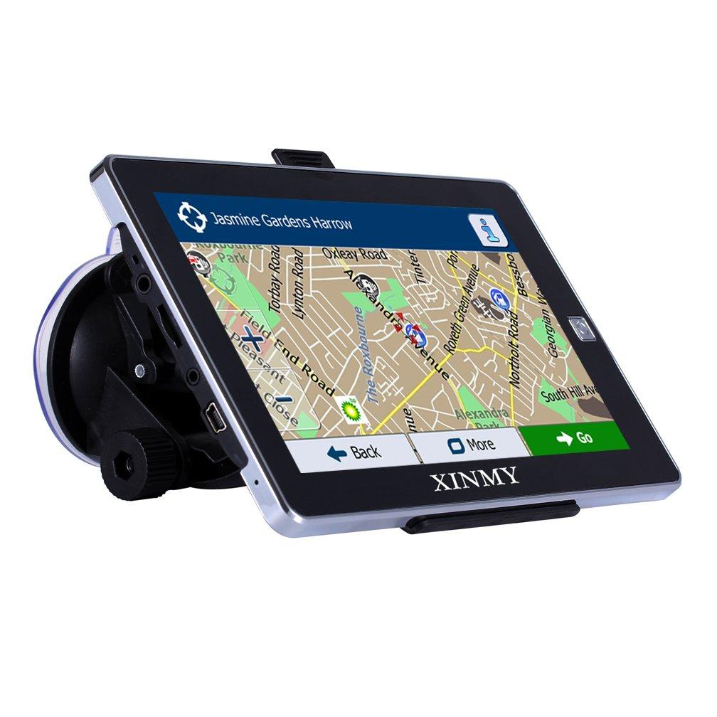 Navegador GPS 7 Pulgadas Autobus Europa Traffic Lane Asistente de Orientacion por voz, 8GB Dispositivo de Navegacion Actualizaciones Gratuitas Mapas: ...