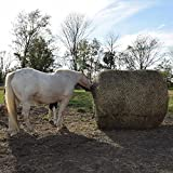Tough-1 Deluxe Round Bale Slow Feed Hay Net