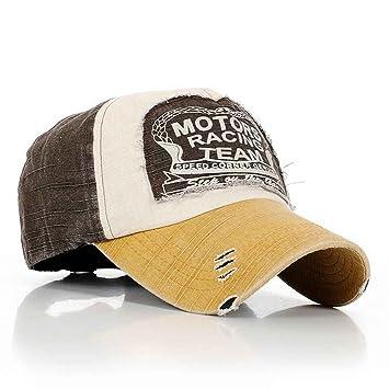 Bobury Sombrero Ajustable de algodón de Golf de Moda Gorras Vintage: Amazon.es: Deportes y aire libre
